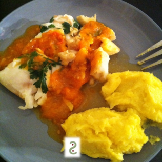 Poached cod in white wine & parsley http://wp.me/s3iY4S-538
