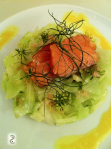 Aneth and cucurma, smoked salmon and sourkraut ,  http://wp.me/p3iY4S-6L