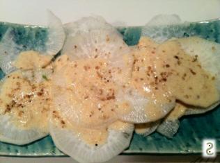 radish, tarama and gomasio http://wp.me/p3iY4S-4D