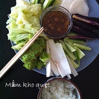 Discover Mắm kho quẹt, a hip and addictive Vietnamese dip #FusionDetox