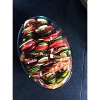 Summer cooking : tian provençal